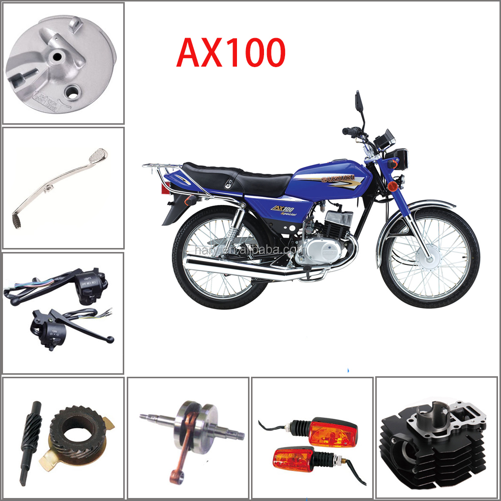 Professional Supply SUZUKI Motorcycle AX100 Parts