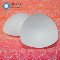 Huapai OEM rounded angle moulded bra cup insert for sports bra
