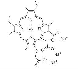 Chlorophyllin  CAS  11006-34-1