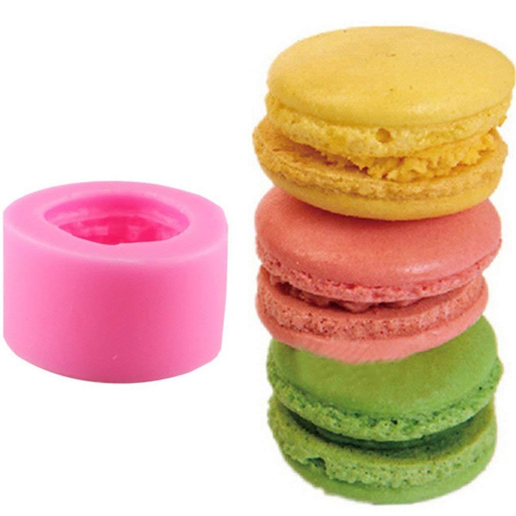 Edtoy Pink Mini Burger Silicone Mold DIY Fondant Silicone Cake Mold Baking Tools