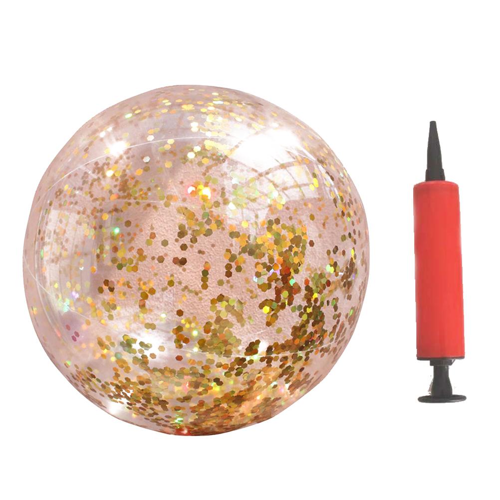 1 шт. Блестящий блестящий шар прозрачный Круглый пляжный открытый спортивный внутренний шар Интерактивная Игрушка реквизит для фотосъемки ...(Китай)