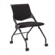 New design color optional folding training stacking chair