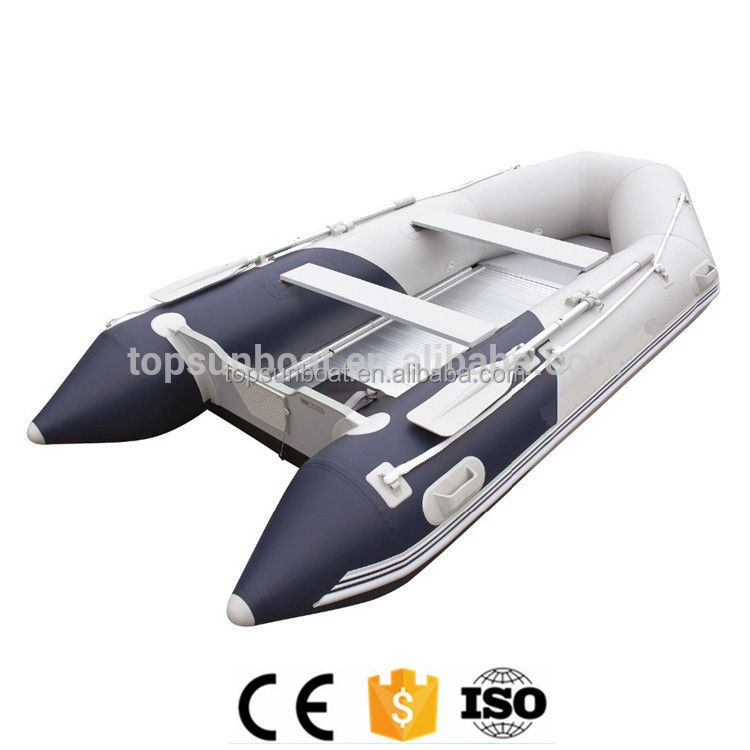 (CE) 3.6m for 6 person pvc inflatable fishing boat inflatable rubber rowing boat motor with aluminum boat