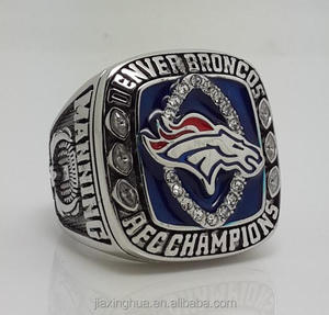 2013 Denver Broncos AFC Champions ring custom made wholesale Group Memory Ring