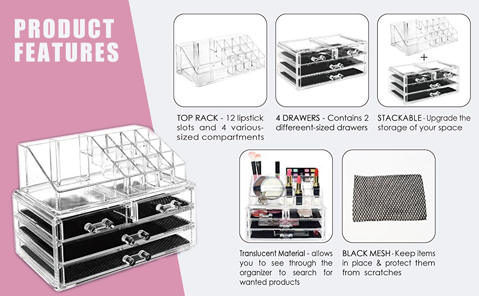Makeup Organizer Large