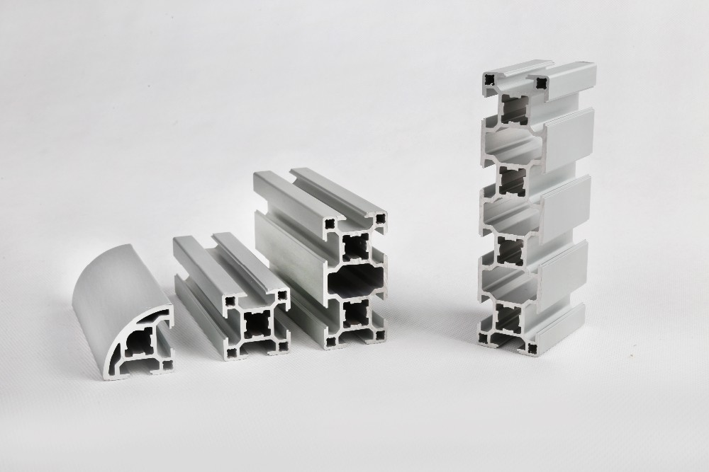 30 Mm X 30 Mm Track Extruded Aluminum Profile