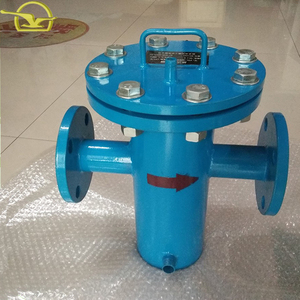Highly cost effective simplex basket strainer for pipeline filtration