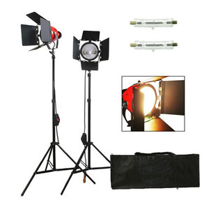 3X800W 2400W 3200K Continuous Studio Lighting 800w studio flash light mettle