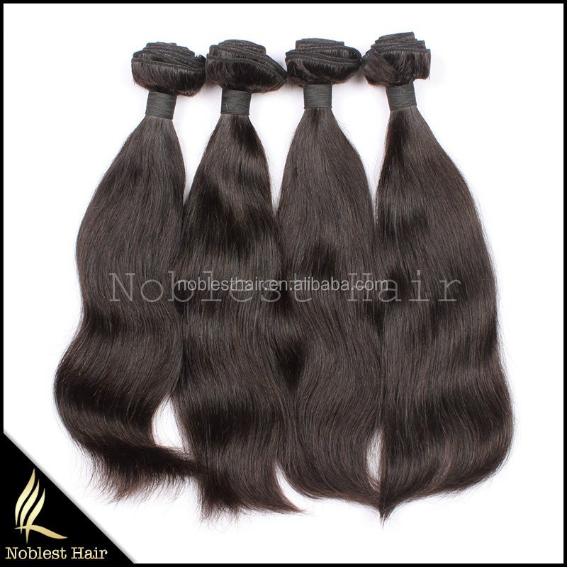 wholesale factory price top grade 100% china hair extension, virgin brazilian hair extension