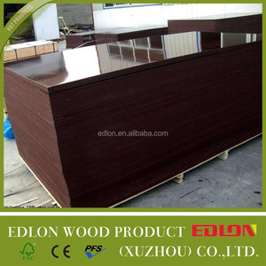 Edlon Wood Products 19mm poplar commercial plywood sheet - board Shuttering construction Film Faced Plywood