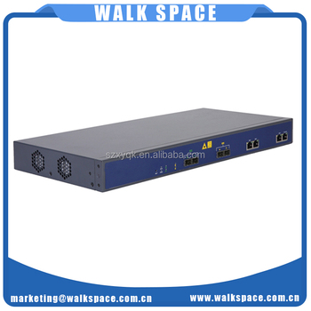 2 GE 2 SFP slots independent uplink interface OLT EPON broadband remote access server fibre products