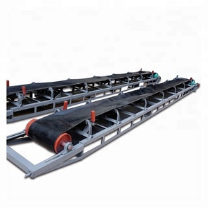 Belt Conveyor Machine System for Rice Mill