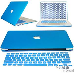 promo code 1a999 0e06d Buy DigitalsOnDemand Light Blue Rubberized Hard Shell Case Cover ...