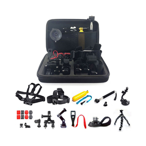 Wholesale price camera accessories gopros pack/sets/kits for go pro heros 5 4 3 accessories