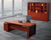 Ovan good quality mordern OEM factory sell customized green material Veneer executive desk and table office furniture