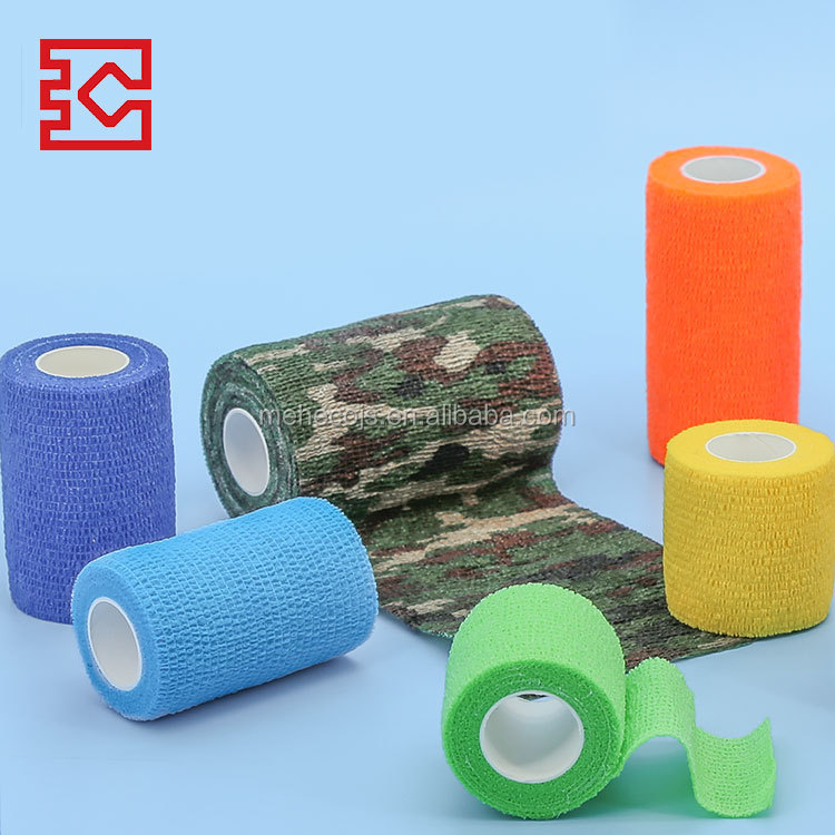 CE ISO approved pattern first aid conforming cohesive bandage