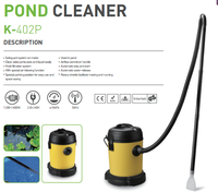 Pond vacuum cleaner plastic tank OEM CE GS 25L 1200W with water drain