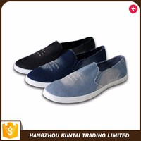 Factory supply attractive price gents canvas shoes suppliers