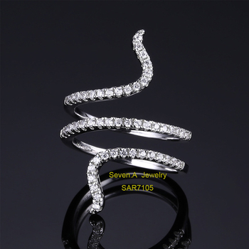 c8b6f056f SAR7105 Real Gold Plated 925 Silver China CZ Rings, Jewelry Wholesale China