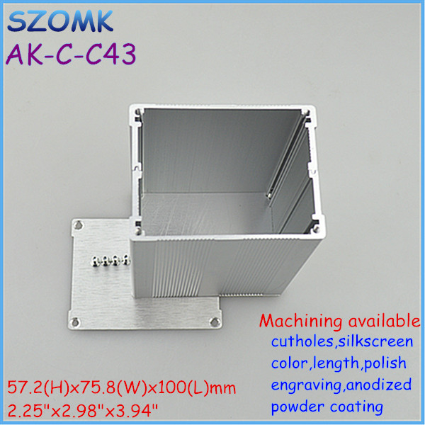 whole sales electronics aluminum speaker enclosure