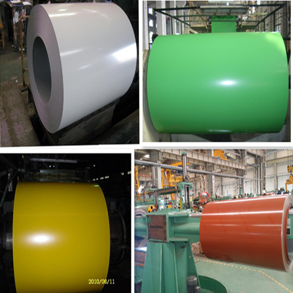 Z60-220g/m2 3003/9016/5005 prepainted galvanized steel coil/ppgi for tile zinc thermal manufactures China