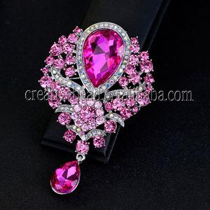 China Glass Fashion Brooch 5d8ab4f69f9f