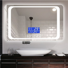 2019 Best Selling Wandmontage Smart Led Vanity Touch Screen <span class=keywords><strong>Spiegel</strong></span> Met Verlichting