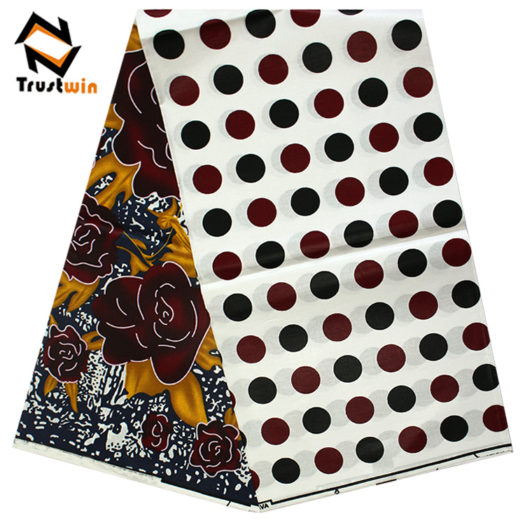 Nigerian 100 cotton bright african wax prints <strong>fabric</strong>