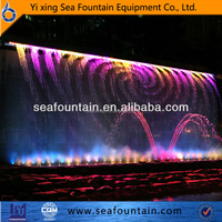 2015 New Style Factory Outlet Digital Water Curtain Colorful Music ...
