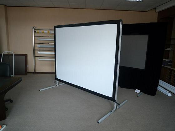 180 Inch Fast Folding Projector Screen With Front And Rear Projection/Portable  Folding Screen Fast