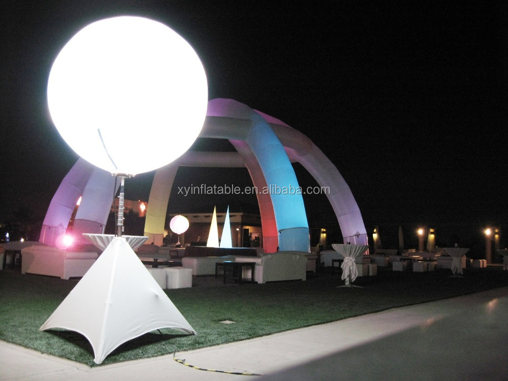 Xy Factory Led Lighting Triple Balloon Stand Pole For Decoration ...