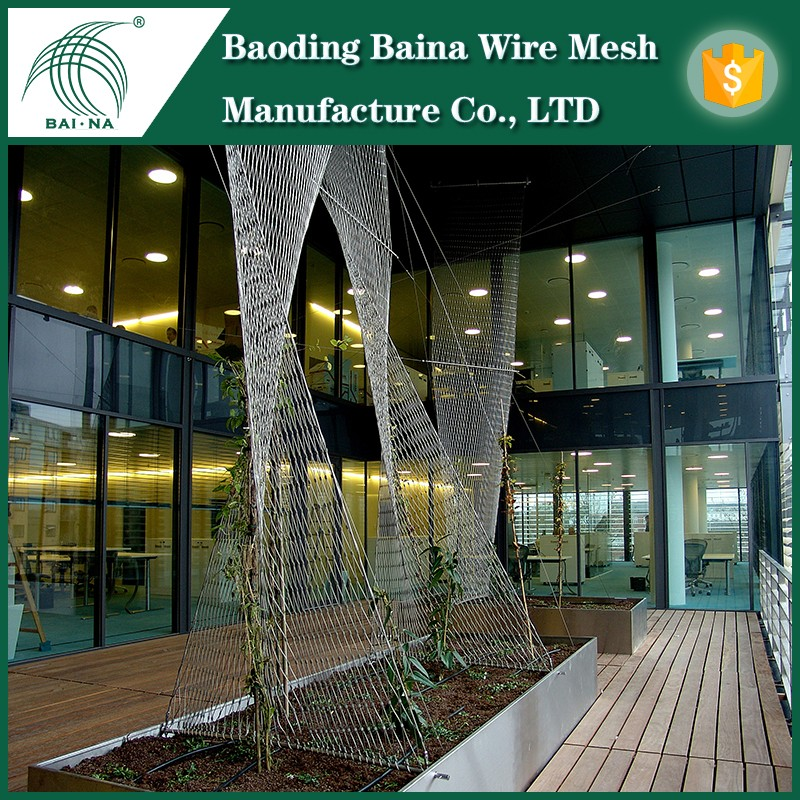 Stair Railing Wire Rope Mesh,Stainless Steel Safety Net Made In ...