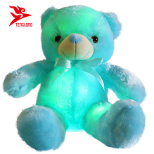 Creativo Induttivo Animali <span class=keywords><strong>di</strong></span> Peluche Peluche Glowing Orsacchiotto Led Night Light