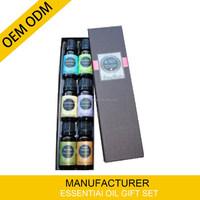 100% Pure, Best Therapeutic Grade Essential Oil - 10 ml gift set Lavender, Tea Tree, Eucalyptus, Lemongrass, Orange, Peppermint