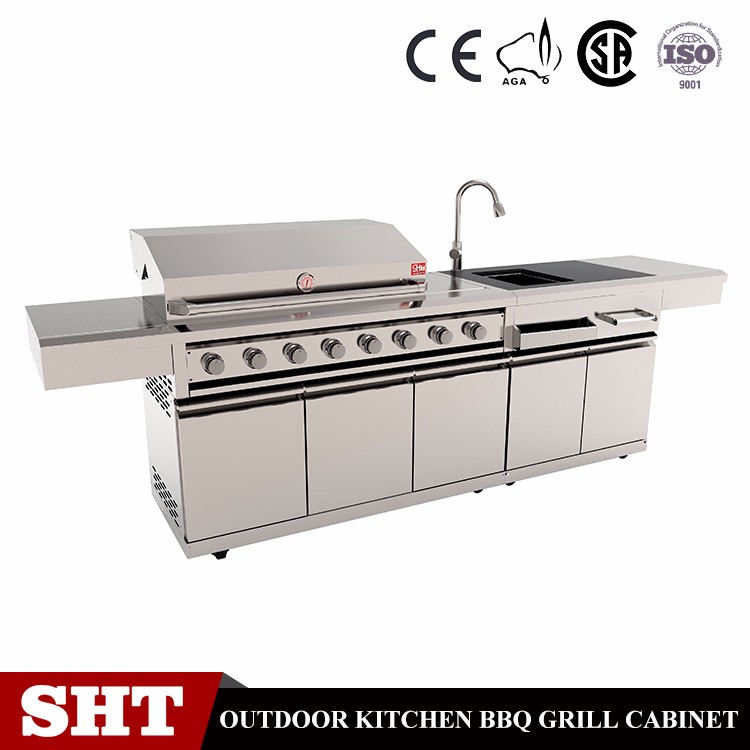 Good Price Ce Approved Stainless Body Patio Unique Bbq Gas Grill