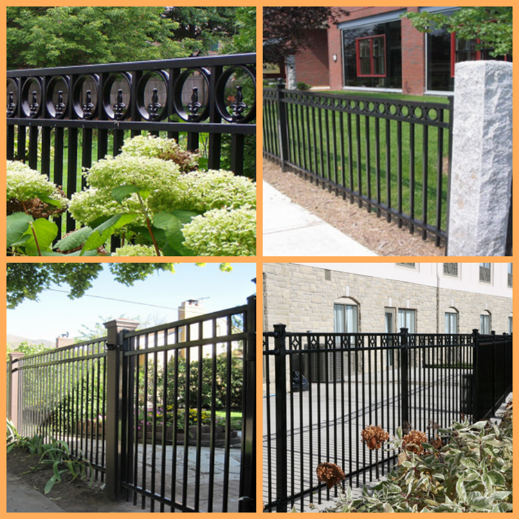iso9001 wholesale steel fence and metal fence panels id. Black Bedroom Furniture Sets. Home Design Ideas