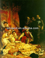 A noble family of fabric painting designs images