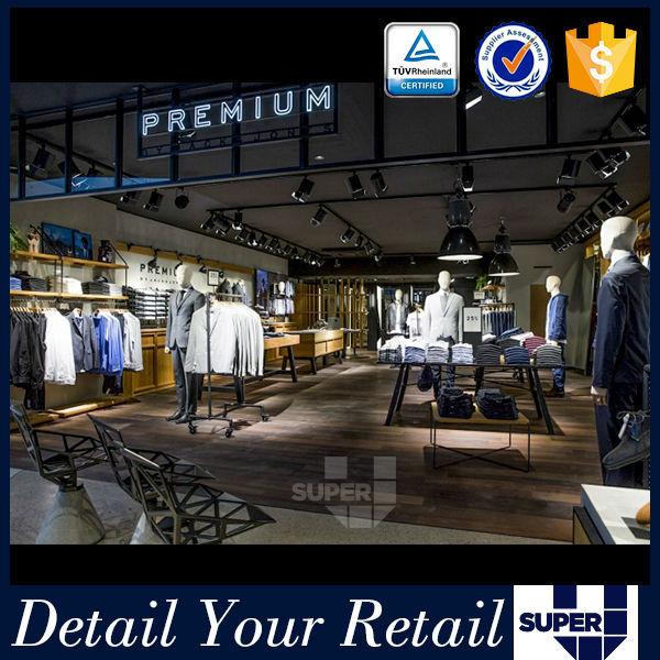 81206b454 الأثاث متجر للملابس الجاهزة في الهند متجر تركيب رفوف عرض الملابس ...