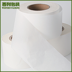 Unbleached Heat Seal Tea Bag Filter Paper in roll