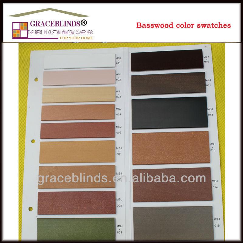 50mm Wooden Venetian Blinds Venetian Blind Cutter Grey