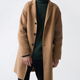 2019 new style mens long coat autumn winter single-breasted windproof slim coat