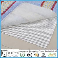 Eco-friendly plastic foam non slip rug pads easy care pvc underlay carpet anti slip rug pad