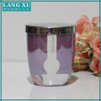 high quality 5 oz graceful purple candle wax