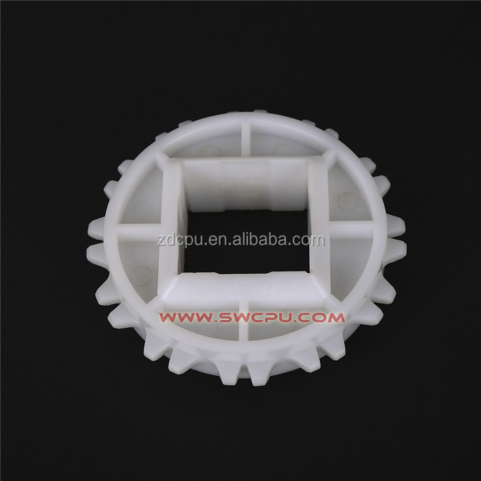 High load metal core molded injection nylon plastic sprockets gear