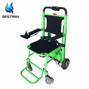 BT-SV04 Motorized Electric Stair Climbing Chair Emergency rescue folding  stair stretcher lift