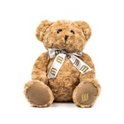 Soft light brown stuffed teddy bear plush toy