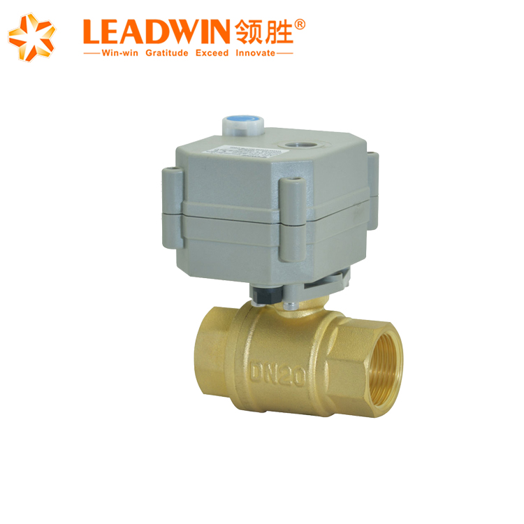 "1/2""-1 1/4"" low price 2 way motorized electric flow control valve"