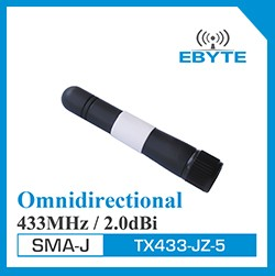 Ebyte TX868-JZ-5 vertical high gain SMA-Male 868MHz antenna