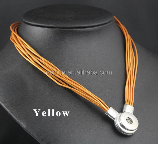 STOCK China Alibaba express interchangeable magnetic clasp Pendant Necklace Custom Ginger Snaps Jewelry Necklace NAN039
