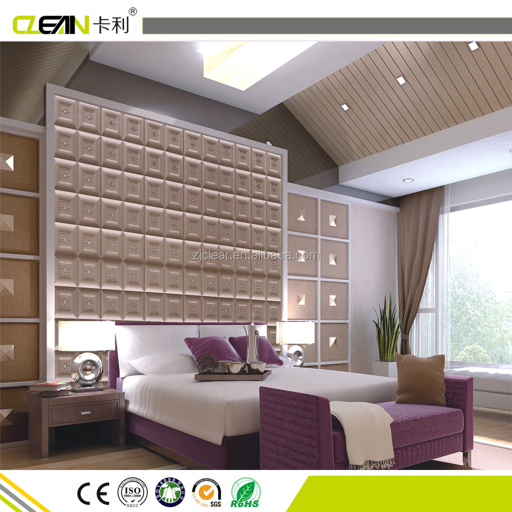 3d Texture Wall Panel& 3d Leather Wall Panel
